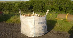 Hardwood Logs Dumpy Bag Bulk Firewood Logs Glasgow Lanarkshire Edinburgh Lothians