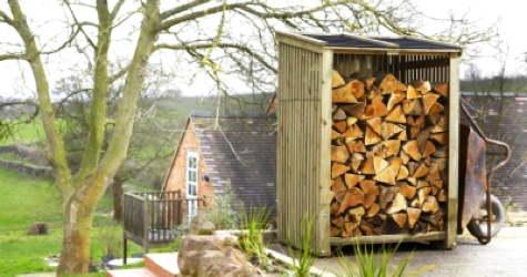 order log stores firewood storage sheds