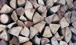 Split Logs Scottish Seasoned Firewood