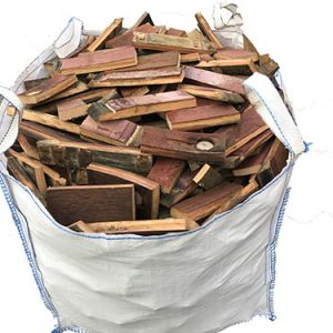 whisky barrel firewood dumpy bag