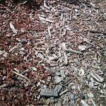 garden hardwood mulch bag
