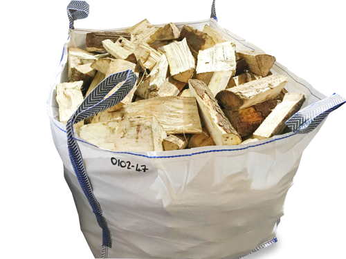 kiln dried softwood builders dumpy bag