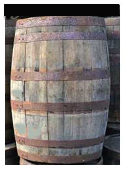 oak whisky barrels glasgow lanarkshire