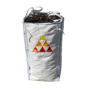 decorative bark mulch barrow bag