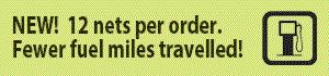 12 nets per order fuel economy